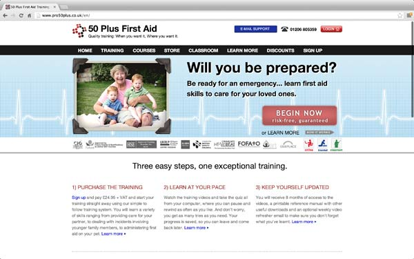 first aid for over 50